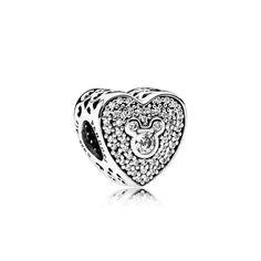 Authentic PANDORA Disney Mickey & Minnie Sparkling Heart Charm for sale online Pandora Uk, Pandora Charms Disney, Pandora Bracelet Charms, Pandora Jewelry, Pandora Disney Collection, Shop Engagement Rings, Diy Jewelry Making, Heart Charm, Charmed