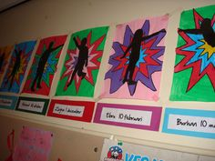 Home - meester Tim. Superhero Classroom, Classroom Themes, Art For Kids, Crafts For Kids, Arts And Crafts, School Projects, Art Projects, Ecole Art, Art Lessons Elementary