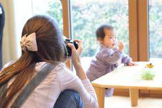 カメラ練習中の人。