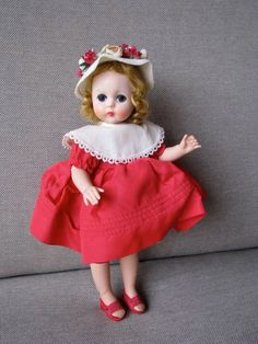 Vintage Madame Alexander 1957 Lissy Doll by LilandLou on Etsy, $415.00