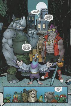TMNT Entity: TMNT (IDW) #39 Bebop and Rocksteady