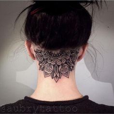 head tattoo for women