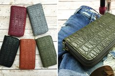 Faux Leather Double Wallet-5 Colors!    Your new go to!    57% OFF