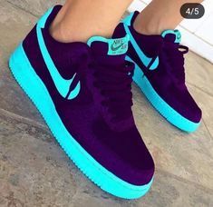Shop Women's Nike size 11 Sneakers at a discounted price at Poshmark. Description: ONLY WORN FOR THE PICTURE. Jordan Shoes Girls, Girls Shoes, Ladies Shoes, Shoes Women, Cute Sneakers, Sneakers Nike, Nike Shoes Air Force, Aesthetic Shoes, Hype Shoes
