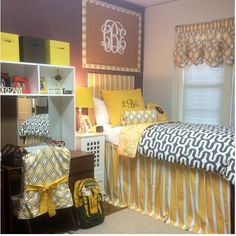 Dorm don't like the yellow but cute