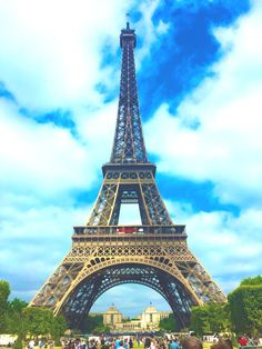 Eiffel Tower  Paris, France  Shot from an iPhone6, edited with Procamapp ©mikcantos2015