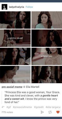 GoT; ASOIAF; Game of Thrones; Elia Martell