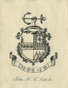 nickyskye meanderings: ex libris, a few book plates I like Ex Libris, Crest Logo, Templer, Family Crest, Crests, Vintage Labels, Logo Design Inspiration, Coat Of Arms, Monogram