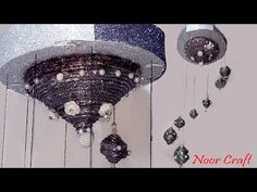 Newspaper Wall Hanging | Newspaper Chime | Best Out Of Waste | DIY Wall Hanging Craft Ideas - YouTube