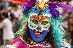 Danzante en el carnaval
