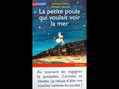 Coup de coeur - La petite poule qui voulait voir la mer - Ch.Jolibois, Heinrich - Pocket jeunesse - YouTube