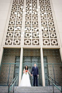 LA Temple Back Door~ My husband and I walked out of those doors!