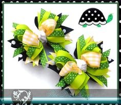 Twisted Layered Boutique Hair Bow Tutorial by ThePoshBowz on Etsy
