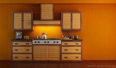 Asian Kitchen Design Inspiration Ideas Asiankitchen Kitchendesign Two Tone Cabinets Cabinet