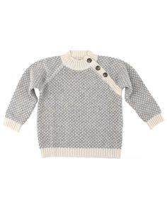 Trend alert: boys jersey with cashmere in Scandinavian design from Il Gufo