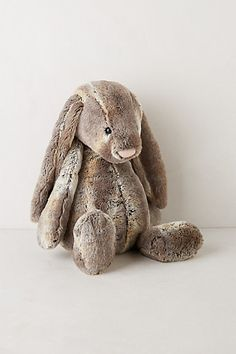 The gorgeous Cottantail Bunny, each one is an individual because of the mottled fabric.
