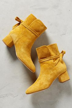 Manu Saturated Suede Ankle Boots