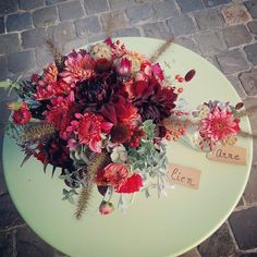 Ecochic herfst bruidsboeket www.florisant.be