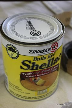 Maison Decor: Chalk Paint® Tips you may want to seal a piece with Zinsser Shellac is if it has a bad odor, like mustiness or smoke damage. Seal the entire piece first, then start painting when shellac has dried.