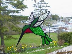 Golden Gallery Tobermory Glass Stained Glass Birds, Leaded Glass, Ontario, Canada, Gallery, Painting, Stained Glass Windows, Birds, Roof Rack