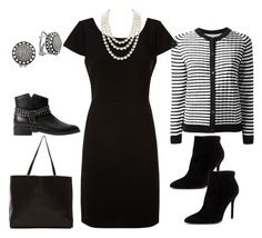 """""""What I Wore"""" by dcurbanchic ❤ liked on Polyvore featuring Diane Von Furstenberg, Chanel, Marni Edition, MANGO, Stuart Weitzman, Effy Jewelry and ThePerfext"""