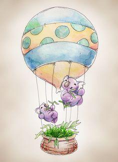 koala hot air balloon - Google Search