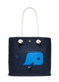 Tory Burch Knotted Whale Tote