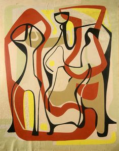 Design for an Aubusson Tapestry (1953) by Roberto Burle-Marx