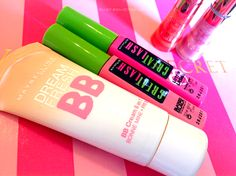 Maybelline's Dream Fresh BB Cream and Great Lash Mascara
