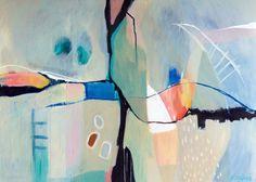 original abstract painting Sarina Diakos Abstract painting