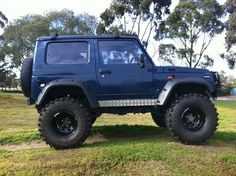 Image result for Off road rear bumpers with spare tire racks suzuki samurai