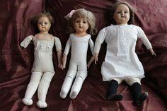 1 of 8: Schildkröt Puppen Antik Alte Schildkroet Puppe Vintage Doll