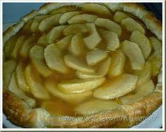 Le Ricette della Nonna: Torta sfogliata di mele con confettura di albicocc...