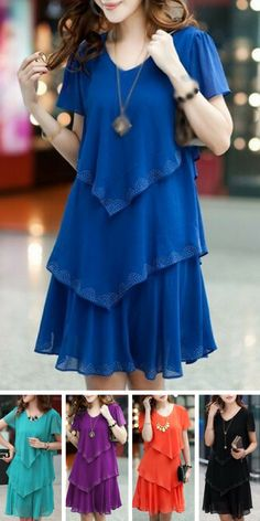 Cheap party dress size Buy Quality dresses chanel directly from China party animals hong kong Suppliers: Vestidos Summer Dress 2016 vestido de festa Plus Size women clothing robe femme woman Party Dresses black chiffon sexy Blue Party Dress, Blue Summer Dresses, Party Dresses, Dresses Dresses, Dress Summer, Dresses 2016, Blue Dresses, Outfit Summer, Fashion Clothes Online