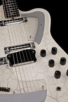 Italia Guitars Sitar White Crackle - Thomann www.thomann.de #white #crackle #alternative #design #guitar #guitarist