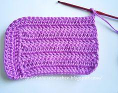 Let's Knit Bustier . Crochet Bra, Crochet Bikini Pattern, Crochet Cover Up, Crochet Clothes, Crochet Patterns, Bustiers, Crochet Dishcloths, Crop Top Bikini, Crochet Projects