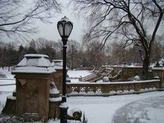 Photo by @luribeirobr #nyc #centralpark #nycwinter #bethesdaterrace
