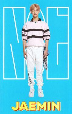 """NCT Season's Greetings 2019 — Accordion Calendar: Jaemin "" ""© im_missingno"