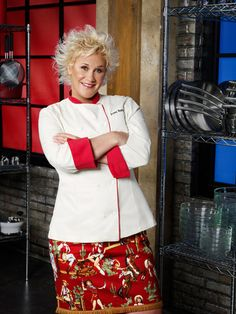 Anne Burrell  (Sep. 21, 1969 - )  She is an American chef, TV personality, and was an instructor at the Institute of Culinary Education in New York City until 2007. She is the host of the Food Network show Secrets Of a Restaurant Chef and co-host of Worst Cooks in America.