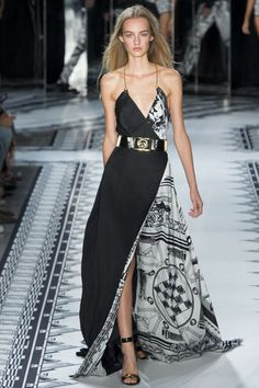 New York Fashion Week SS 2015 Versus Versace
