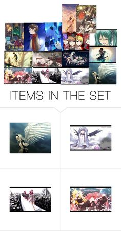 """Nightcore"" by summersnow-975 on Polyvore featuring art"