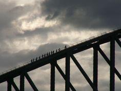 The climb up the Harbour Bridge, Sydney, Australia...I really want to do this!