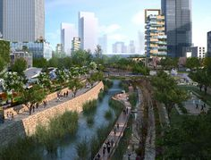 KPF Releases Masterplan for Chinese City Built From Scratch  (2)