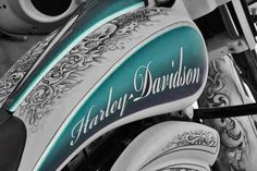 touch of blue harley