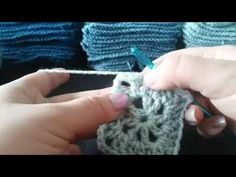 4 Pointed Star Granny Square Tutorial - YouTube