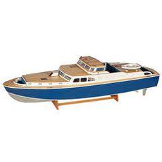 Large Cabin Cruiser Boat Model