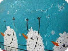 Pica.Arte. Art for young collectors.  http://www.emmayrob.com/para-llenarse-los-ojos-de-mini-arte/#  #Emma