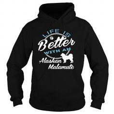 Alaskan Malamute T Shirts, Hoodies. Check price ==► https://www.sunfrog.com/Camping/Alaskan-Malamute-124055165-Guys.html?41382