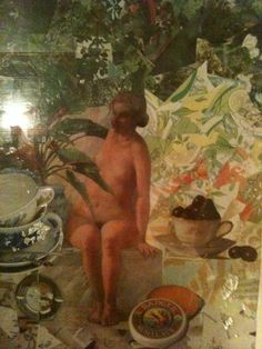 "collage - ""spa with tea"""