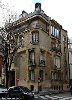 Castel Henriette, Hector Guimard, Art NouveauMasterpiece